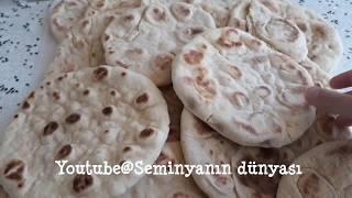 Evde BAZLAMA ekmek nasıl yapılır / Kolay ekmek tarifi