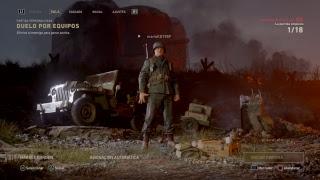 en vivo de marioKD1989  call of duty:WWII DLC3