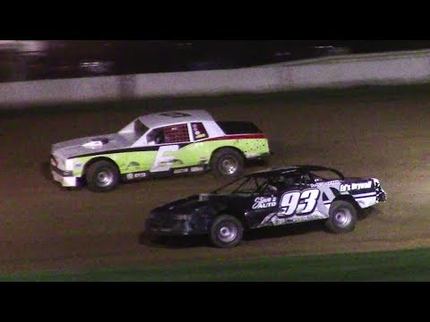 Pure Stock Feature | McKean County Raceway | 9-28-17