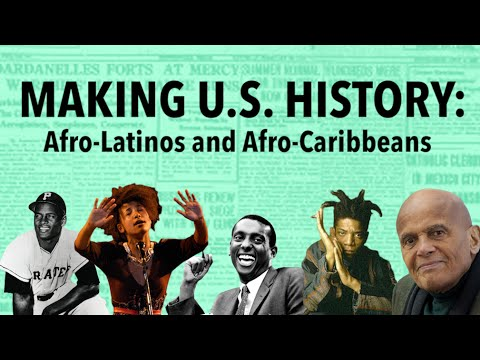 Afro-Latinos and Afro-Caribbeans in US History