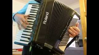 The Lagoon Waltz - with beautiful final melody - accordion solo