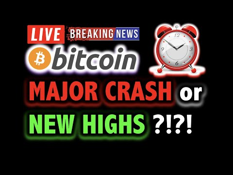 BITCOIN MAJOR CRASH or NEW HIGHS NEXT?! 💥 LIVE Crypto Analysis TA & BTC Cryptocurrency Price News