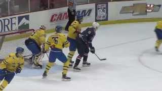 UMass Hockey's William Lagesson W/ Team Sweden