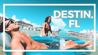 ONE OF FLORIDA'S BEST BEACHES IN DESTIN, FL TRAVEL VLOG