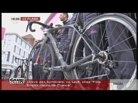 L'équipe cycliste Roubaix Lille Métropole