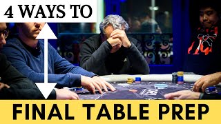 Pro Tips for Preparing for a Poker Final Table