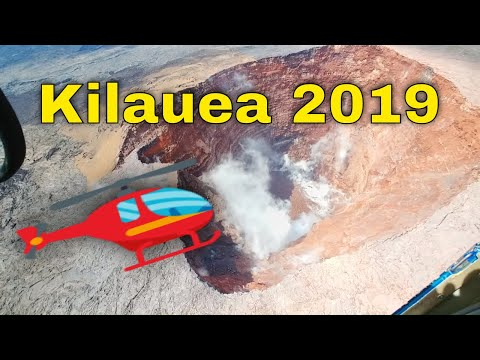 hawaii-kilauea-volcano-2019---eruptions-anniversary-helicopter-flight-🌋🚁🌋🎥😎