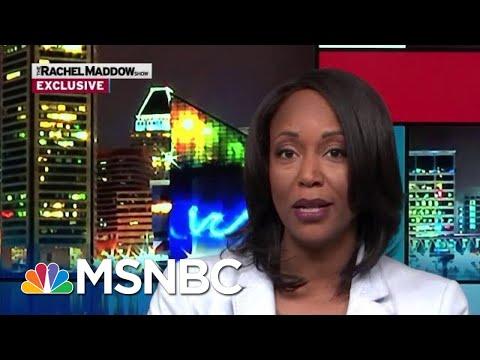 Maya Rockeymoore Cummings To Run For Her Husband's Seat   Rachel Maddow   MSNBC