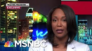Maya Rockeymoore Cummings To Run For Her Husband's Seat | Rachel Maddow | MSNBC