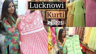 Best Lucknowi Kurtis & Palazzos | wholesale & Retail | Crawford Market | Better Than Surat |
