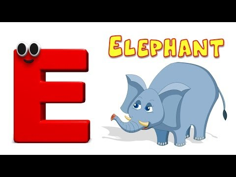 Phonics Letter- E | Learning Alphabets For Toddlers | Kids Tv Nursery Rhymes For Children
