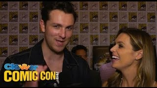 Christian Madsen Talks Divergent Pit at 2013 Comic Con