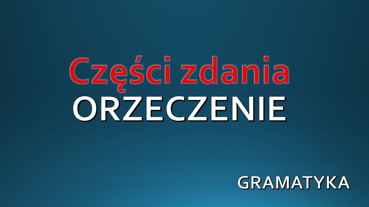 gramatyka klasa 6 test