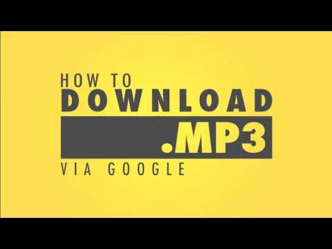 How To Download MP3 Music via Google
