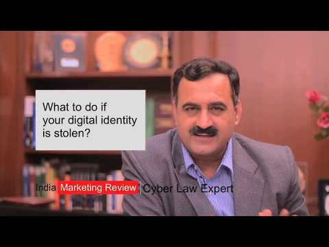 Online Identity Theft What To Do in India featuring Pavan Duggal HD