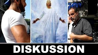 Diskussion zwischen Jesus Nachfolger und Ibrahim Abu Nagie - Die wahre Religion - Lies Infostand