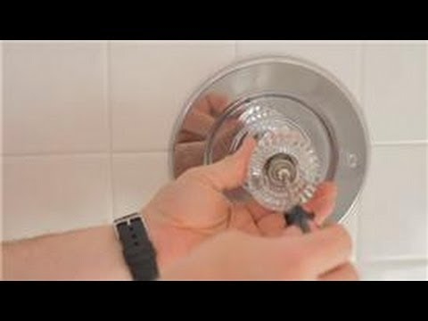 Bathroom Repair : How to Fix a Leaking Shower Faucet - YouTube