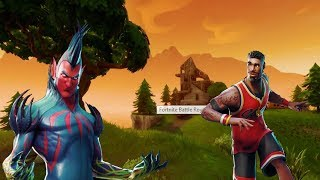 "NEW Fortnite LEAKED ""HELLBOY"" & ""LEBRON"" SKINS! Fortnite Battle Royale Week 5 Skin Update Showcase!"