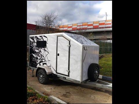 Прицеп-фургон Анвир для мототехники и временного проживания!