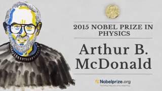 Professor Arthur B. McDonald Co-recipient, 2015 Nobel Prize in Physics