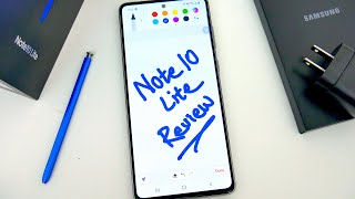 Samsung Galaxy Note10 Lite Updated Review (Late 2020) - Even Better Deal Than Ever?