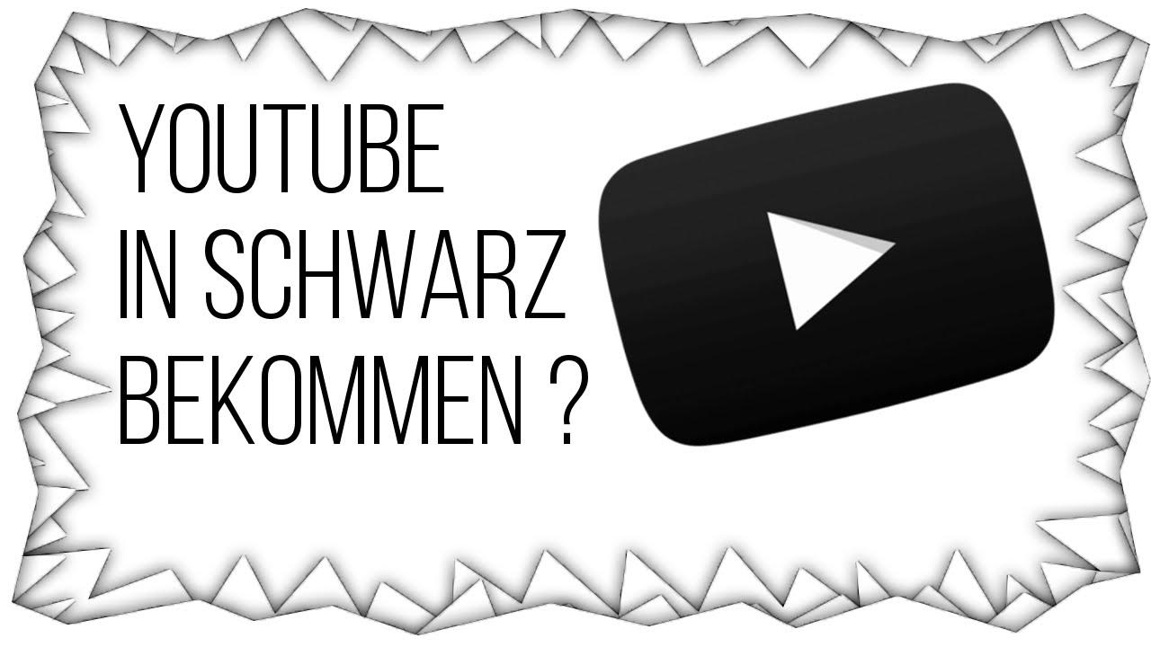 Youtube Hintergrund Schwarz