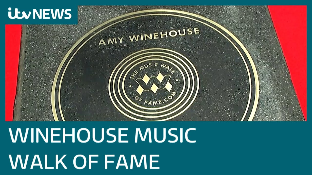 Amy Winehouse has been honoured on Camden's Music Walk of ...