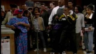 Martin Lawrence muscled by old lady Too funny!