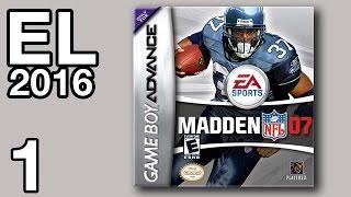 Extra Life 2016 #1 - Madden NFL '07