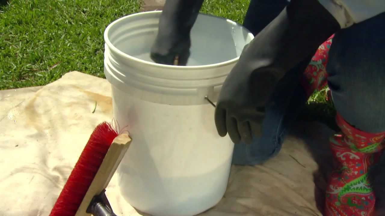 DIY Deck Stain Removal Made Easy - YouTube