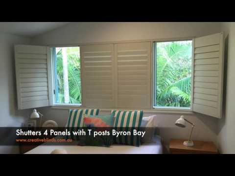 Creative Blinds & Awnings White PVC Internal Shutters