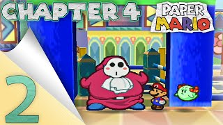 paper mario chapter 4 part 2 snorlax shy guy