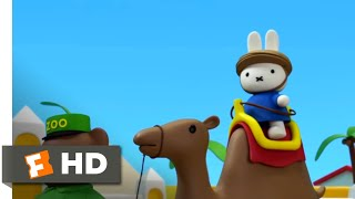 Miffy the Movie (2014) - Camel Rides Scene (8/10)   Movieclips