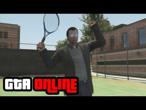 GTA Online: Playing Tennis Gameplay Clip