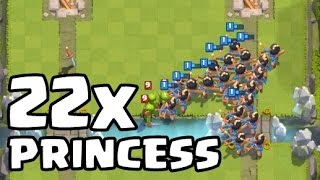 NGELUARIN 22 PRINCESS?! - Clash Royale (Indonesia)