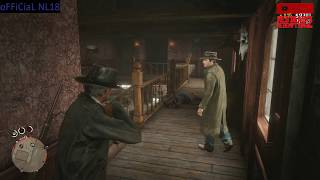 Red Dead Online Massacre in Valentine  Funny Moment (Making Players Rage)