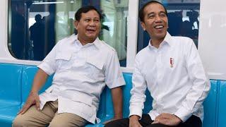 Momen Pertemuan Presiden Jokowi dengan Bapak Prabowo Subianto, Jakarta, 13 Juli 2019