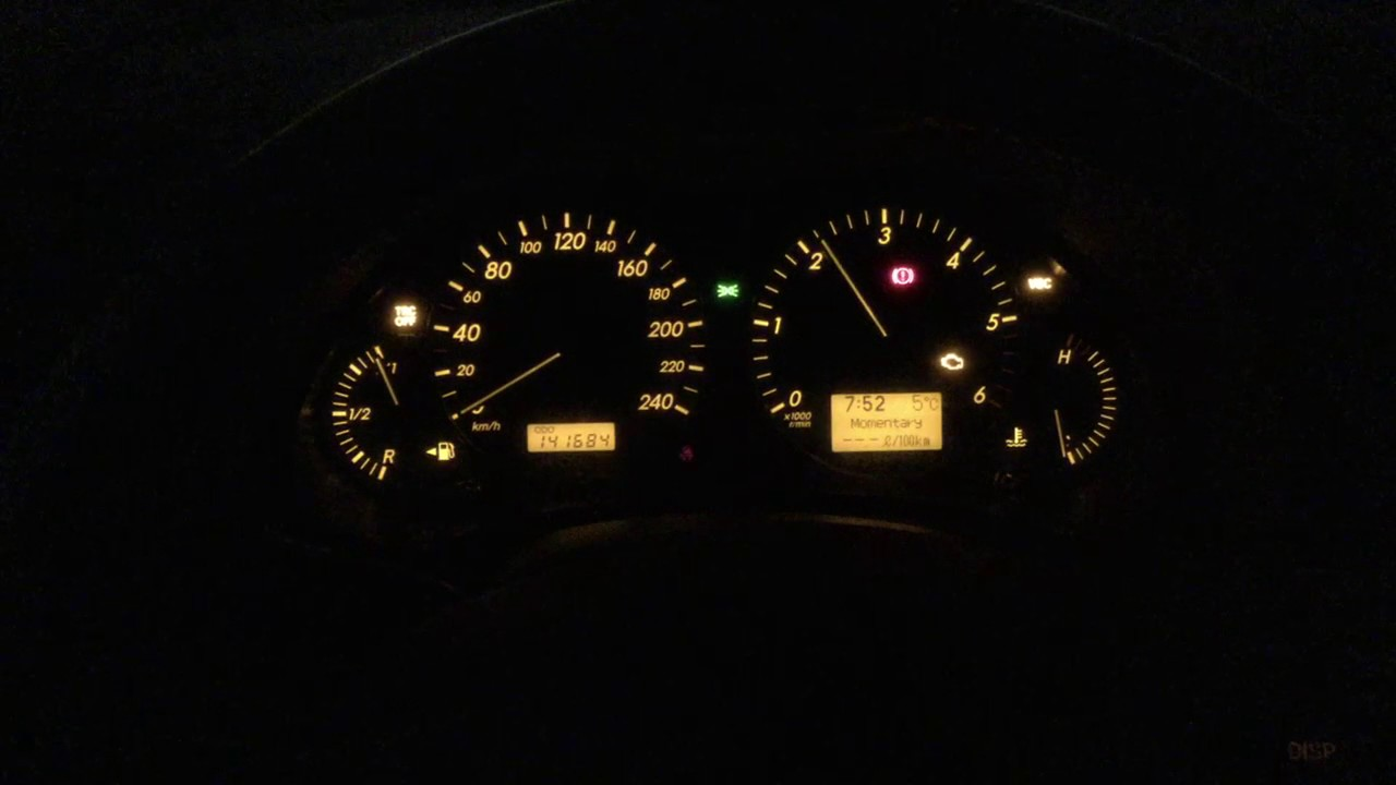 Avensis D4D 2007 Check engine  VSC  TRC off  YouTube