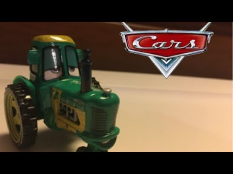 "Disney Pixar Cars ""Rev N Go"" Tractor Unboxing and Review 