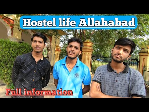 AU hostel | Allahabad university hostel life | Allahabad hostel review |  students interview