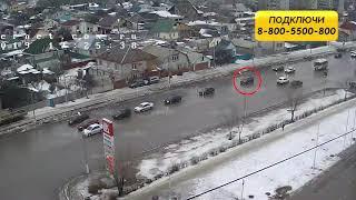 ДТП (авария г. Волжский) ул. Карбышева ул. Пионерская 07-02-2019 17-25