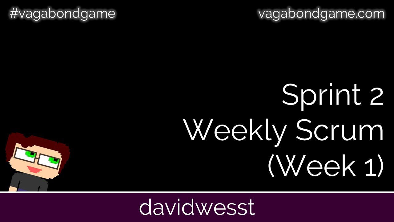 Thumbnail images for #VagabondGame Sprint 2 Scrum (Week 1) video