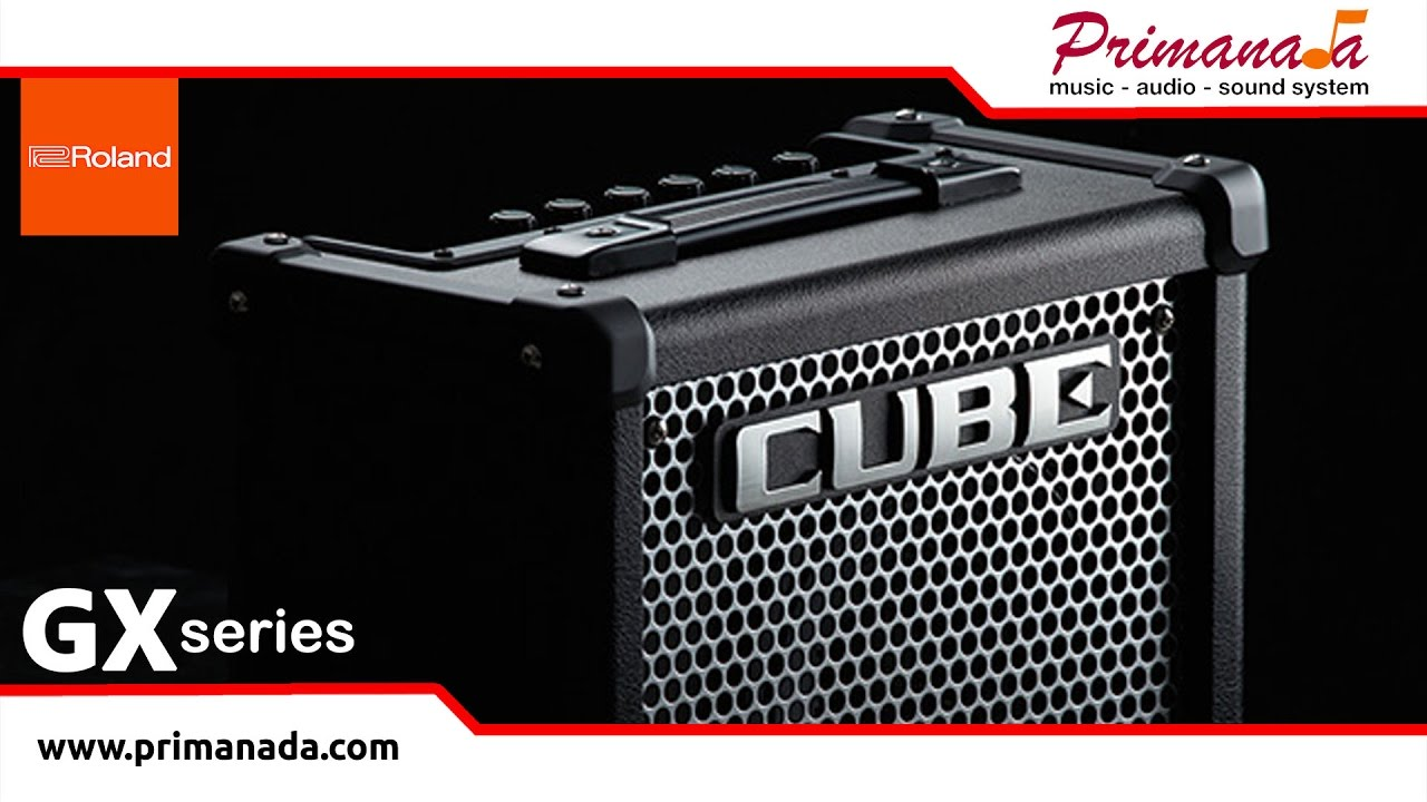 Insight to Roland Cube-GX Series Portable Guitar Amplifier