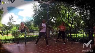 Felices Los 4 - Version Salsa  - Coreo Marcos Aier