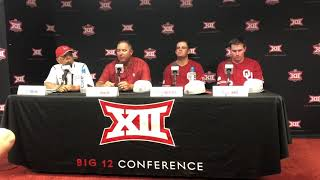 OU Baseball - Big 12 Tournament press conference