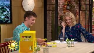 Trisskraparen får Jenny Strömstedt att vika sig av skratt - Nyhetsmorgon (TV4)