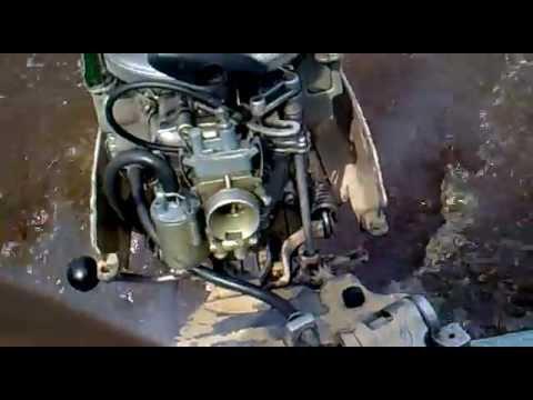 мотор-редуктор из 2-х шуруповертов - YouTube