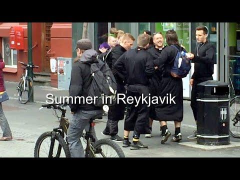 Summer in Reykjavik - Laugavegor Street