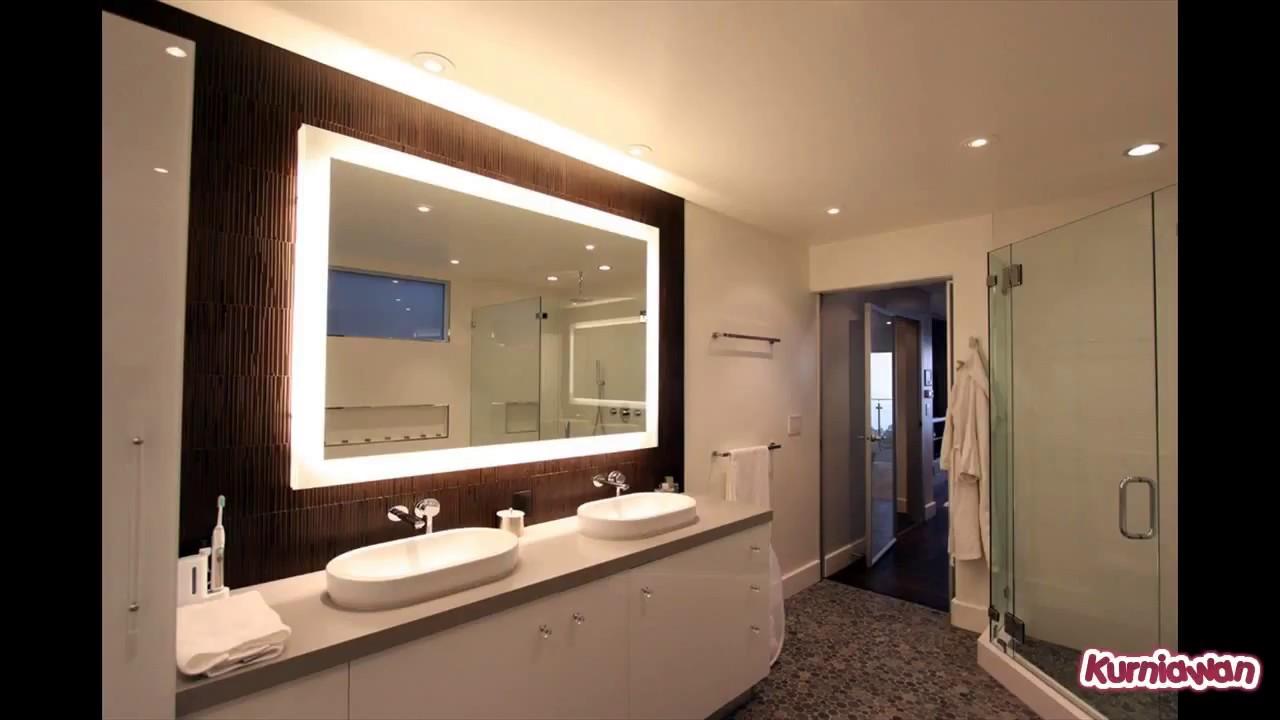 Oversized Bathroom Mirror - YouTube