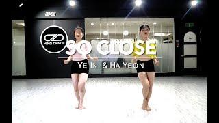 MIND DANCE(마인드댄스) 실용무용 입시반(Duet) 8:30 Class | NOTD - So Close | 예인, 하연